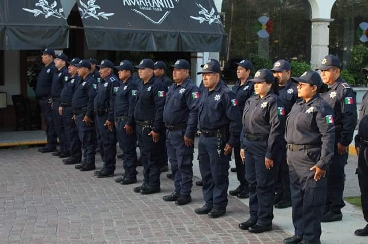Policías municipales de Tierra Blanca exigen apoyos de Fortaseg