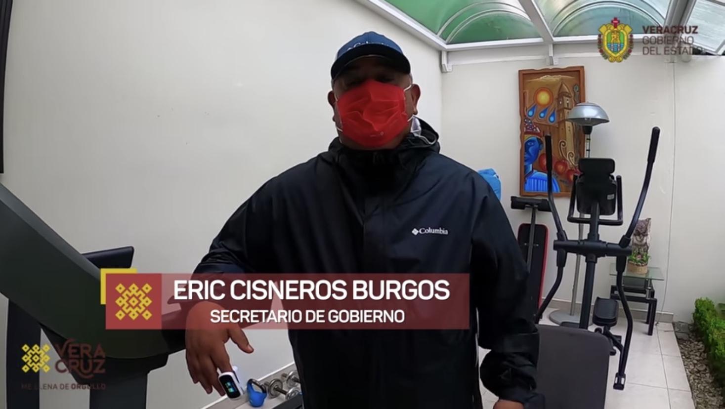 Resalta Eric Cisneros desempeño de la comunidad médica veracruzana; él, va en franca recuperación