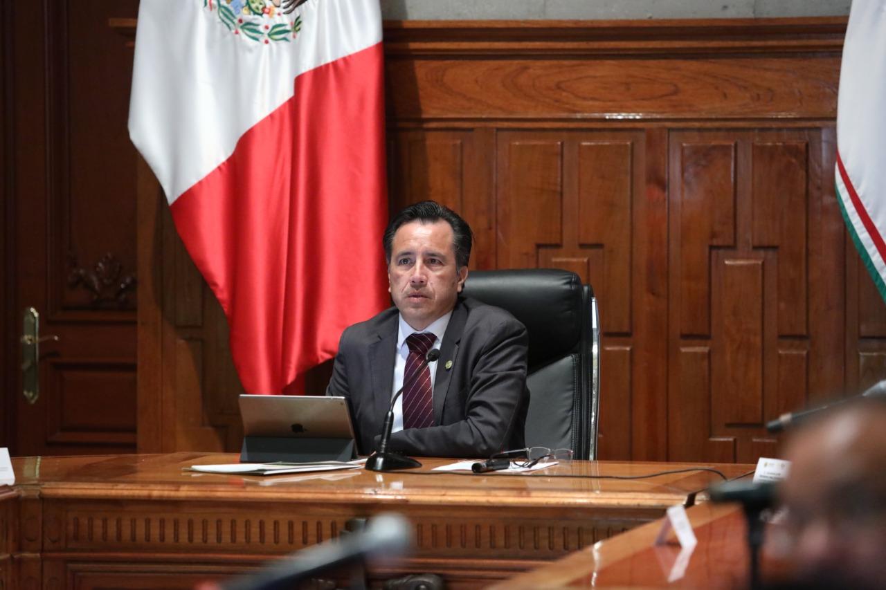 La coordinación de los tres poderes va en pos de que haya justicia para el pueblo de Veracruz: Cuitláhuac García