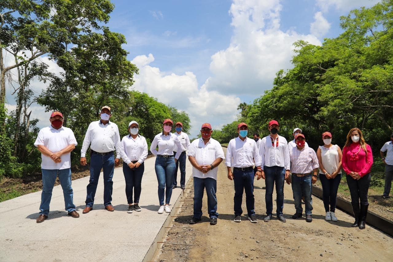 Con hechos y acciones Cuitláhuac García le cumple a Ozuluama: Eric Cisneros