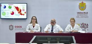 En el estado de Veracruz, Boca del Río, Veracruz y Poza Rica los de mayor contagio