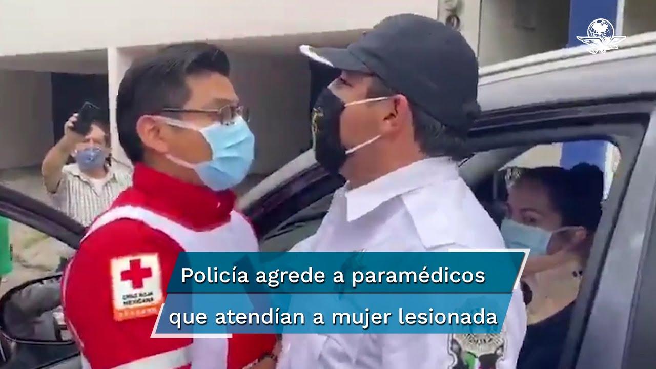 Agredieron nuestra ambulancia, nos escoltaron patrullas: Paramédicos de Ecatepec