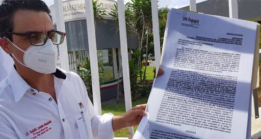 Denuncia PRI a alcalde y tesorero de Boca  del Río por presuntos delitos electorales