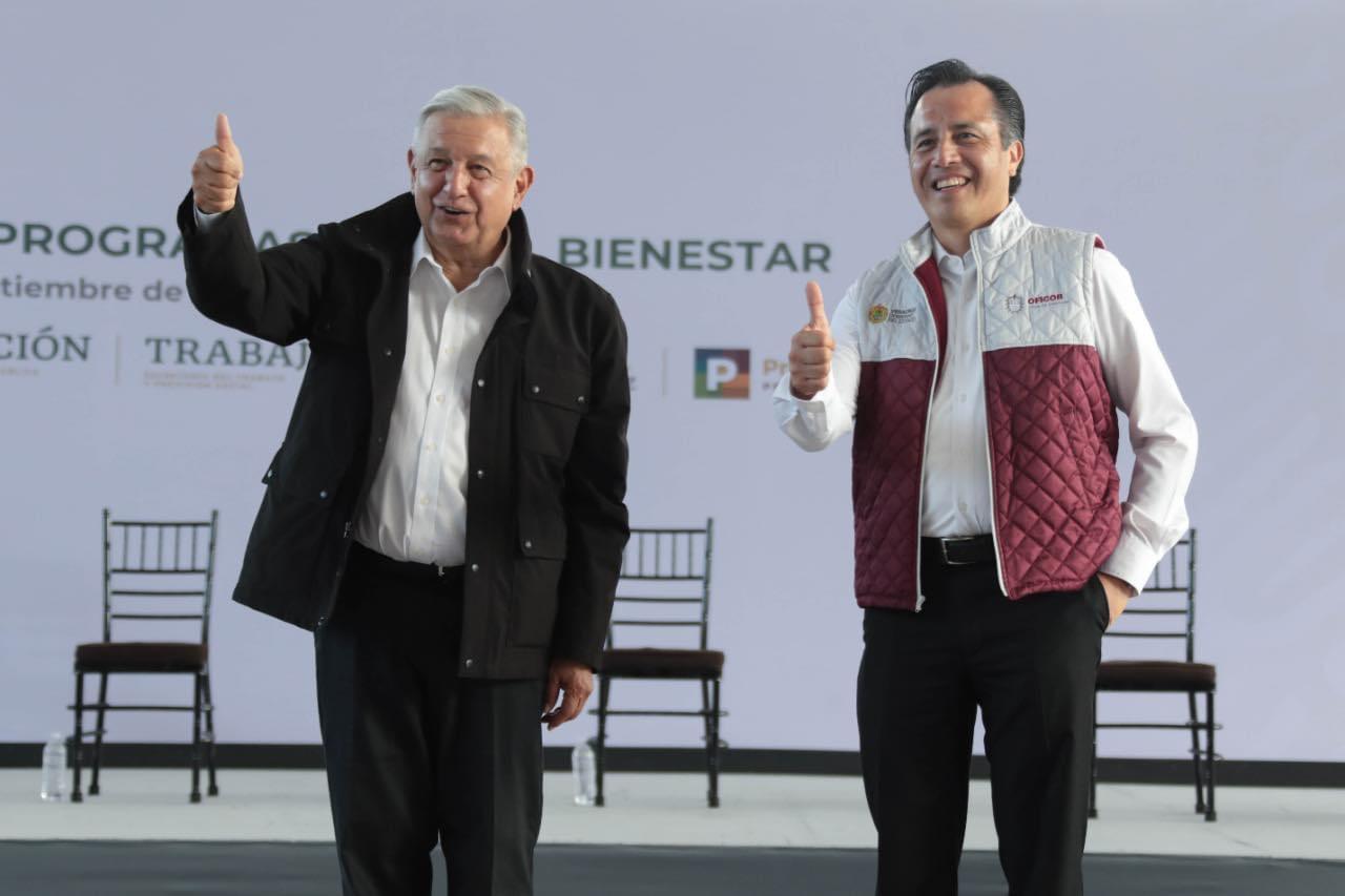 Disminución de delitos gracias a apoyo federal: Cuitláhuac