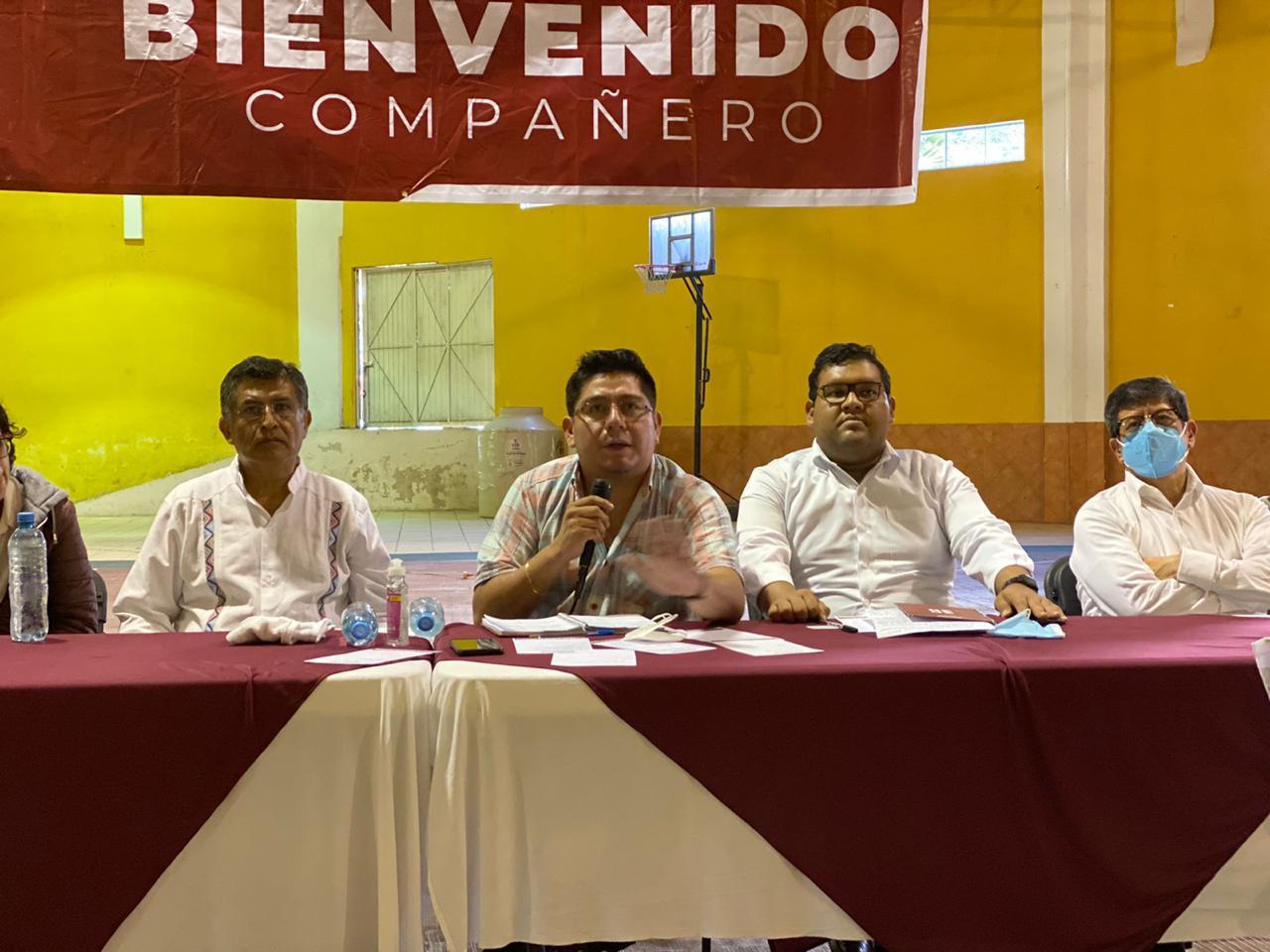 Vamos a trabajar unidos con quien resulte favorecido en la encuesta para la dirigencia nacional: Esteban Ramírez