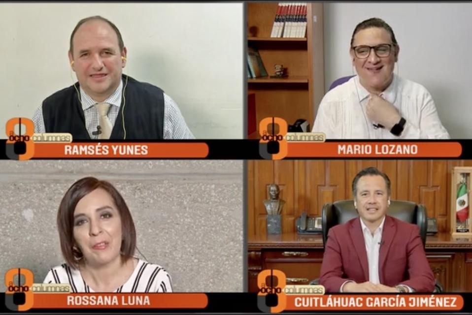 """""""Siguen abiertas carpetas de investigación contra ex gobernadores de Veracruz en la FGR"""": CGJ"""