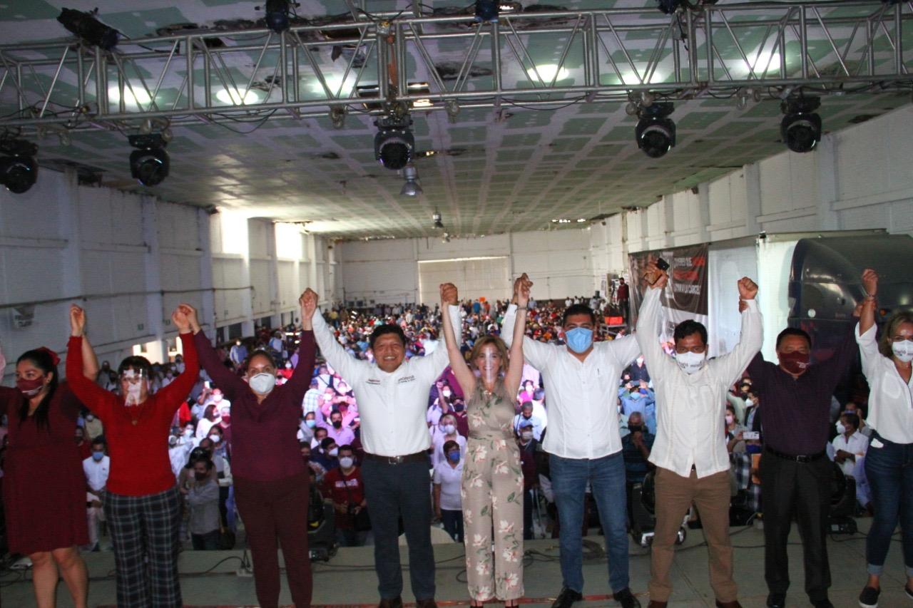 La fuerza de Morena es el pueblo responsable de México: Ana Miriam Ferráez Centeno