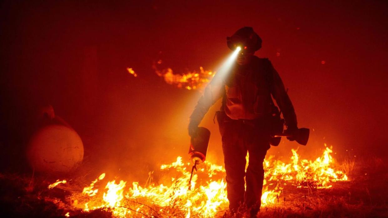 """""""Tormentas de Fuego"""", no incendios en el estado de Oregón, Estados Unidos"""