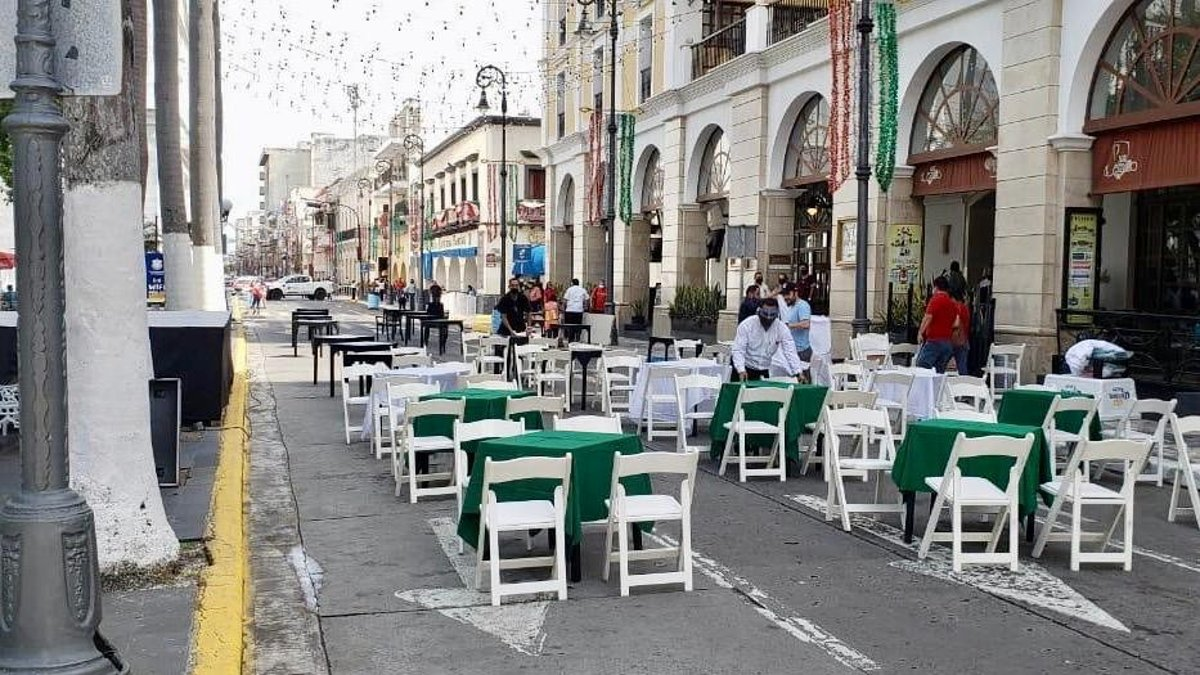Inauguran corredor turístico en puerto de Veracruz a pesar de semáforo rojo