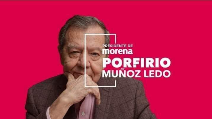 Integrantes del Comité Ejecutivo Estatal de Morena respaldan triunfo de Porfirio Muñoz Ledo.