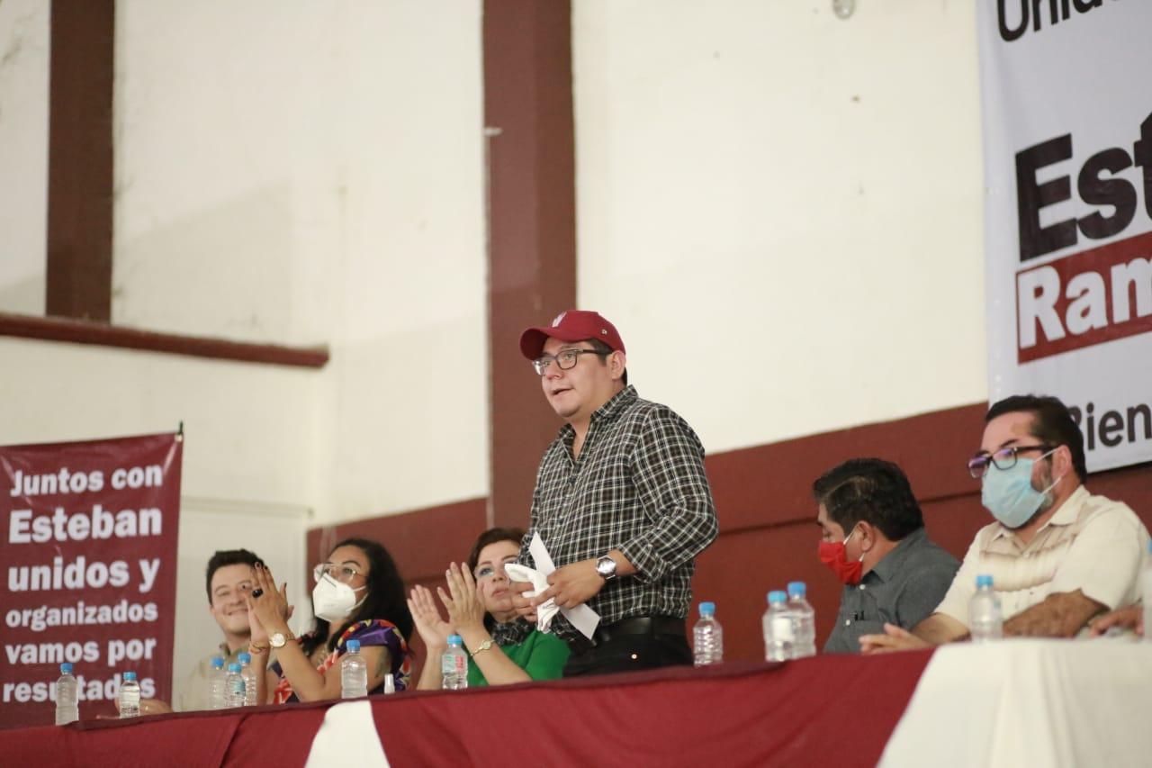 No permitiremos que en Veracruz se repitan los resultados de Hidalgo y Coahuila: Esteban R. Zepeta