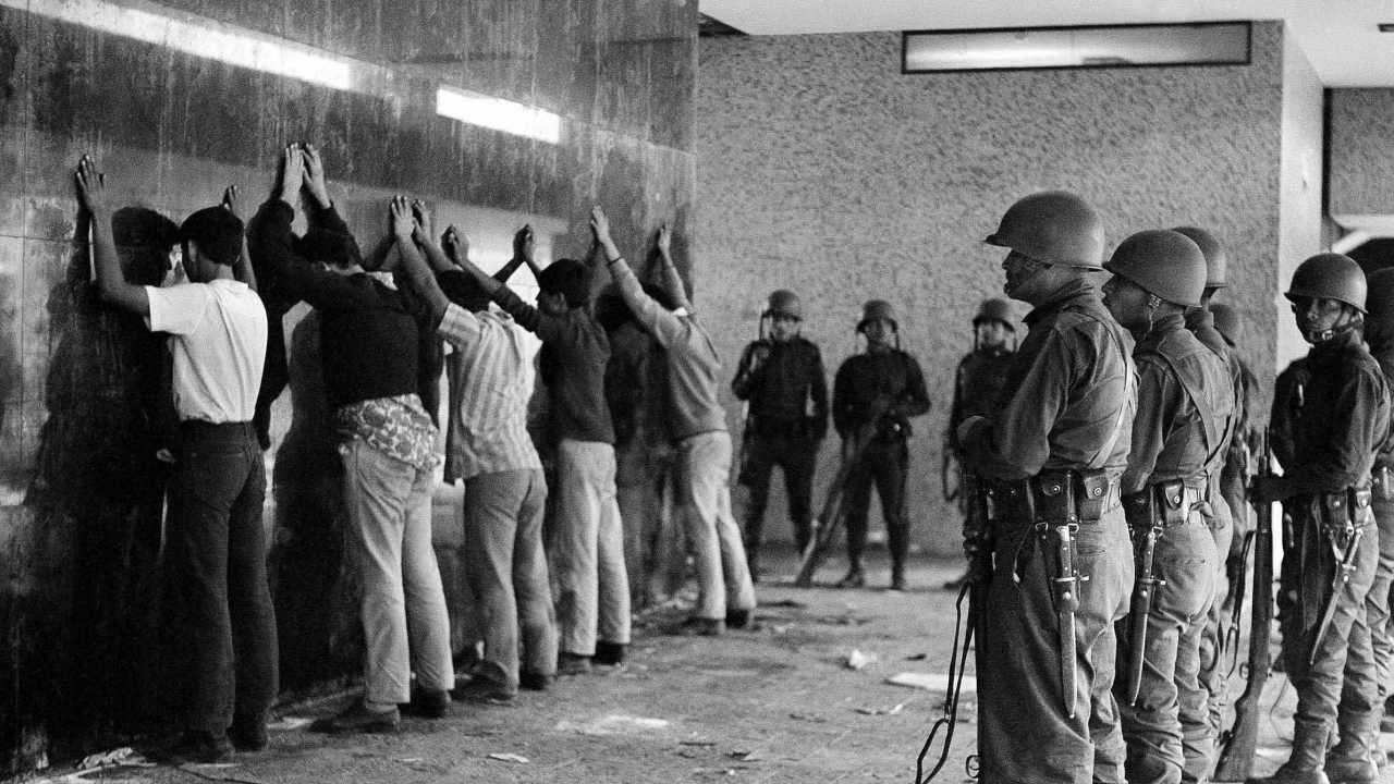 La masacre de Tlatelolco en el 68