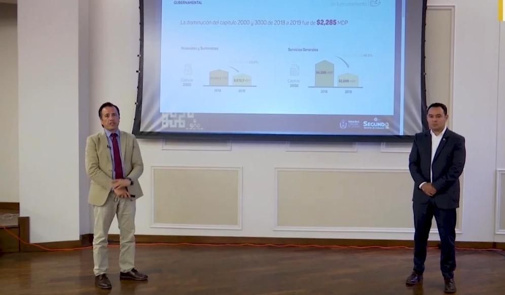 Austeridad permitió bajar deuda y mejorar indicadores ante SHyCP: Cuitláhuac