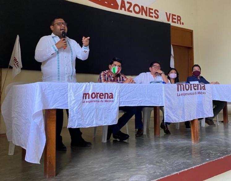 Morena Veracruz pide replicar encuesta para renovar dirigencia estatal