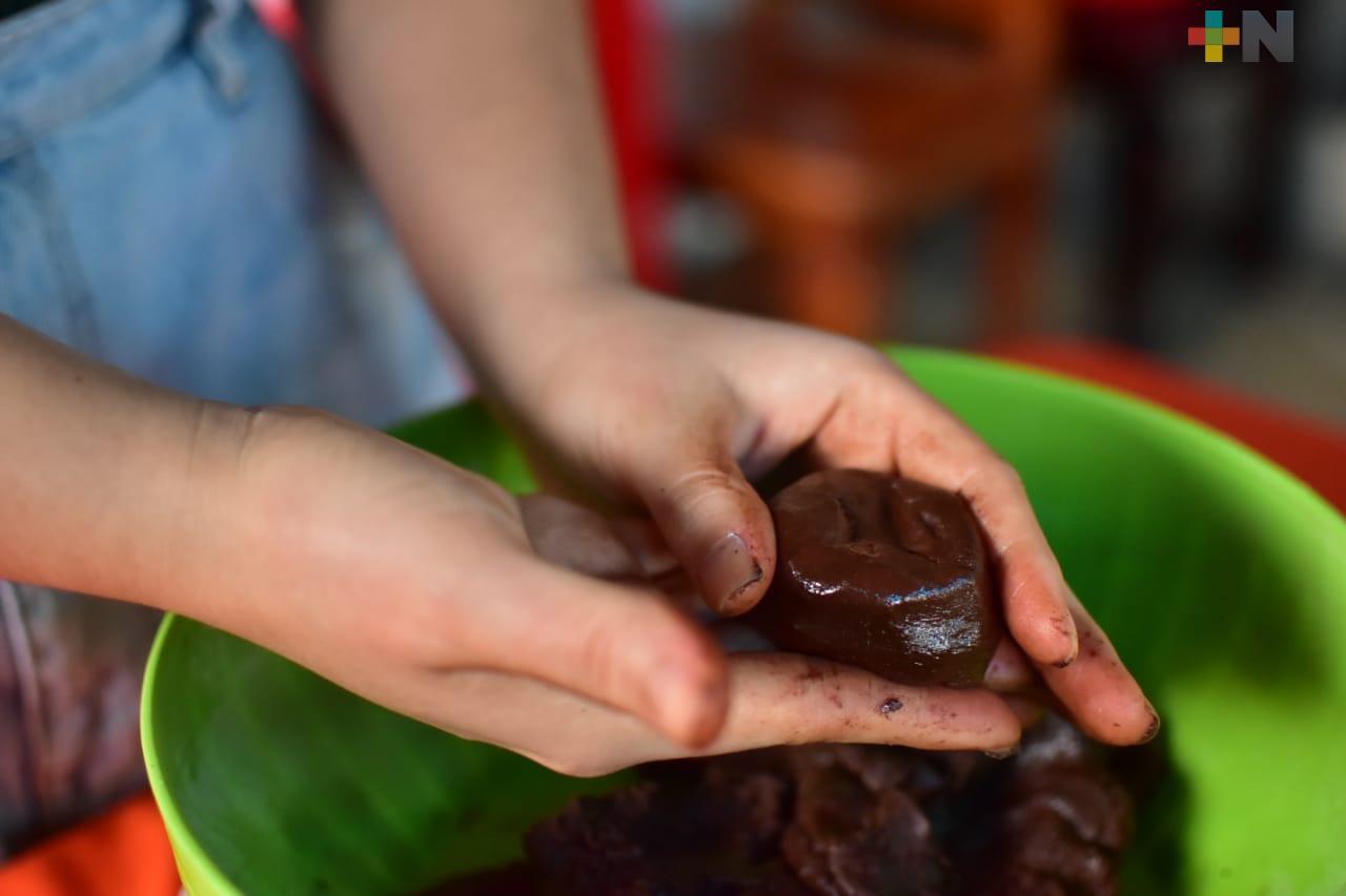Chocolate elaborado con stevia, opción «saludable» en Día de Muertos