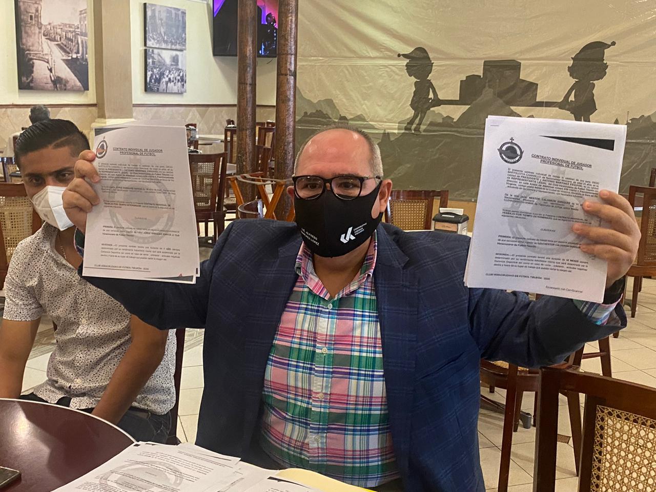 Demandarán al Club Veracruzano de Fútbol Tiburón, por incumplimiento de contrato