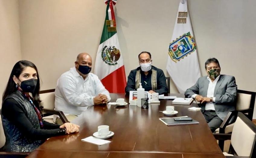 Puebla y Veracruz sumarán esfuerzos para construir entidades de bienestar: Eric Cisneros