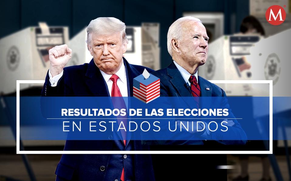 Resultados de las elecciones en Estados Unidos