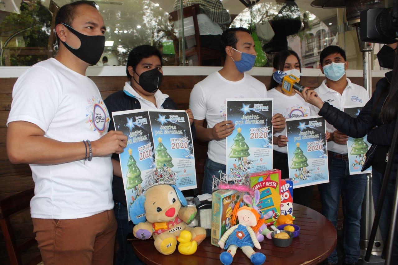 Asociación quiere juntar 5 mil jueguetes para regalar el Día de Reyes