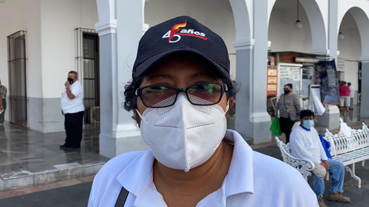 Veracruzanos piden al Gobierno Estatal regularizar terrenos.