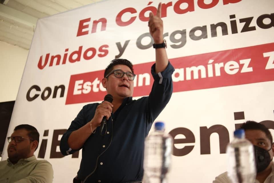 En Morena trabajamos para respetar la voluntad ciudadana: Ramírez Zepeta