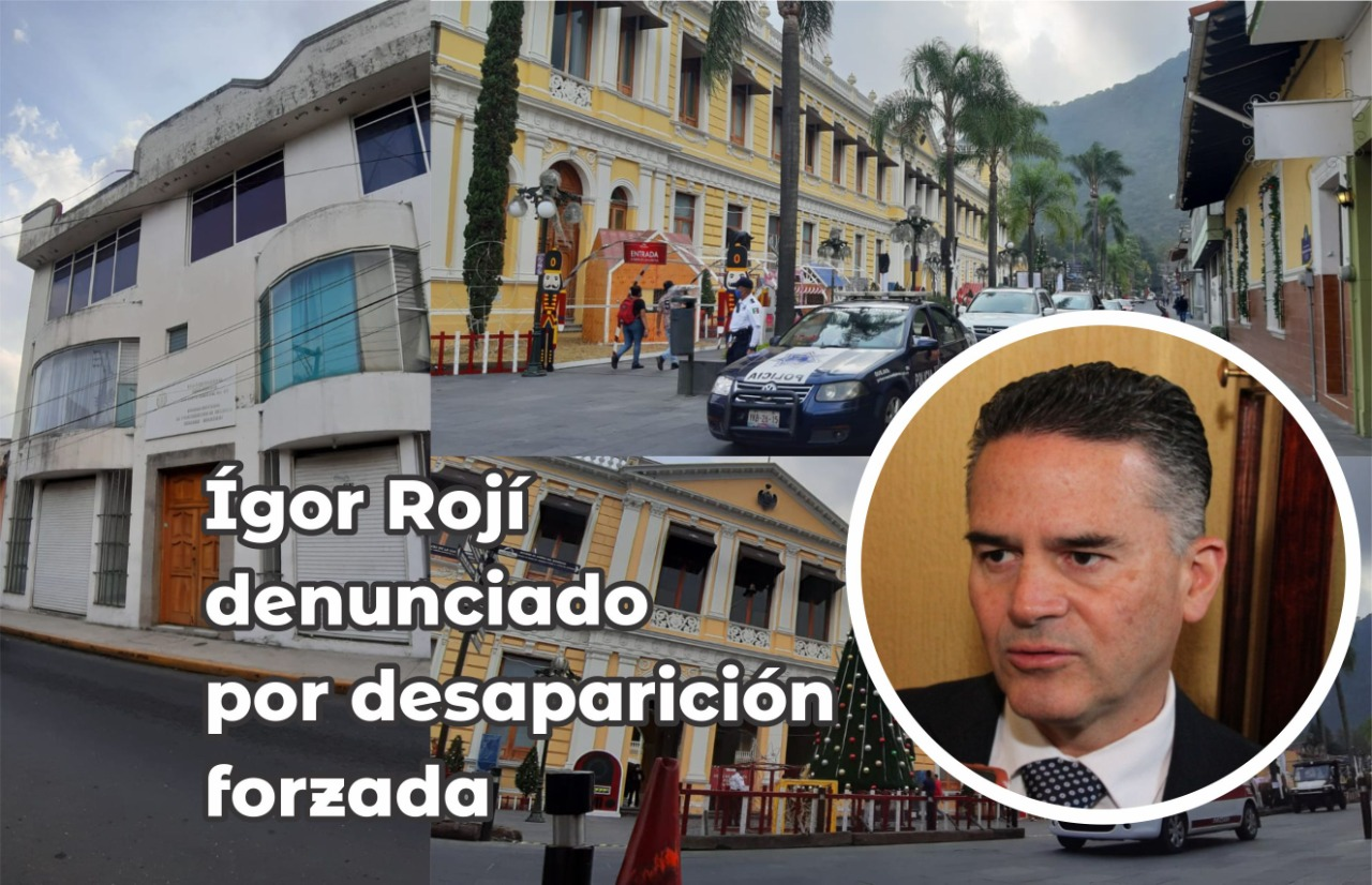 Igor Rojí podría ser desaforado, Trasciende denuncia por Desaparición Forzada