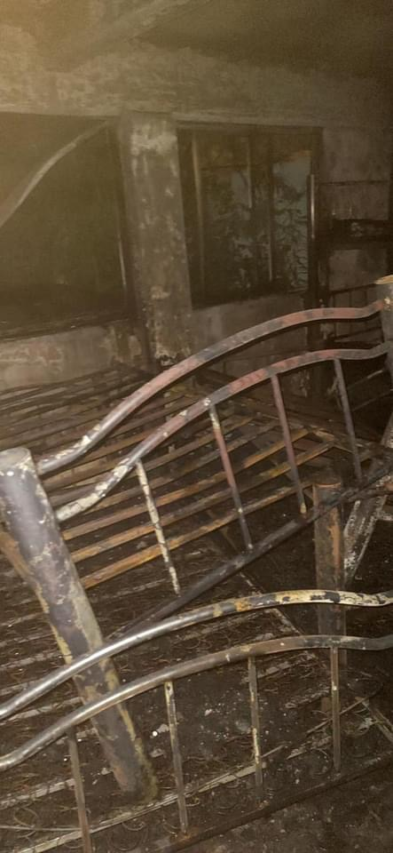 Un cohete provocó incendio en casa hogar en Veracruz.