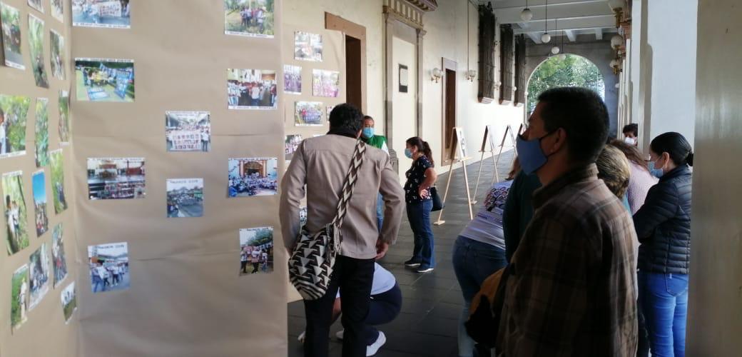 Visibilizan a desaparecidos con fotografías para que autoridades no olviden que tienen que hacer su trabajo