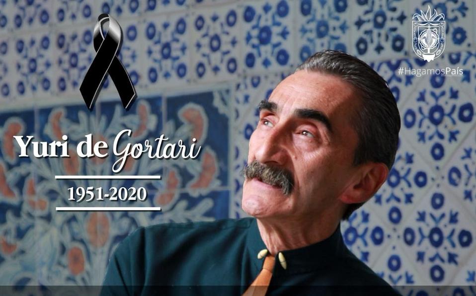 Murió Yuri de Gortari, reconocido chef mexicano