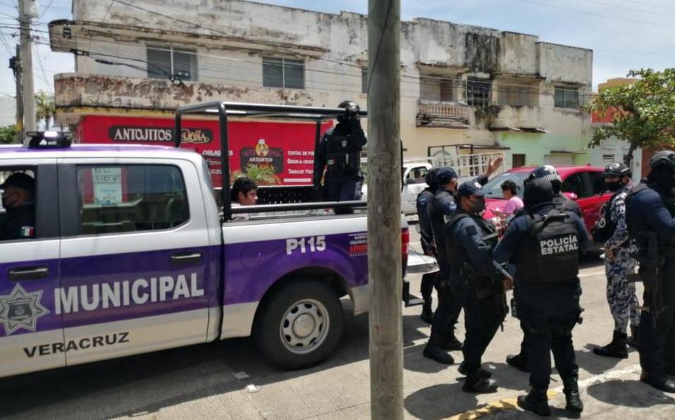 Detienen al agresor de una mujer en el centro de Veracruz