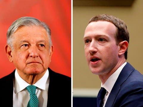 AMLO acusa a Mark Zuckerberg de prepotente por bloquear a Donald Trump