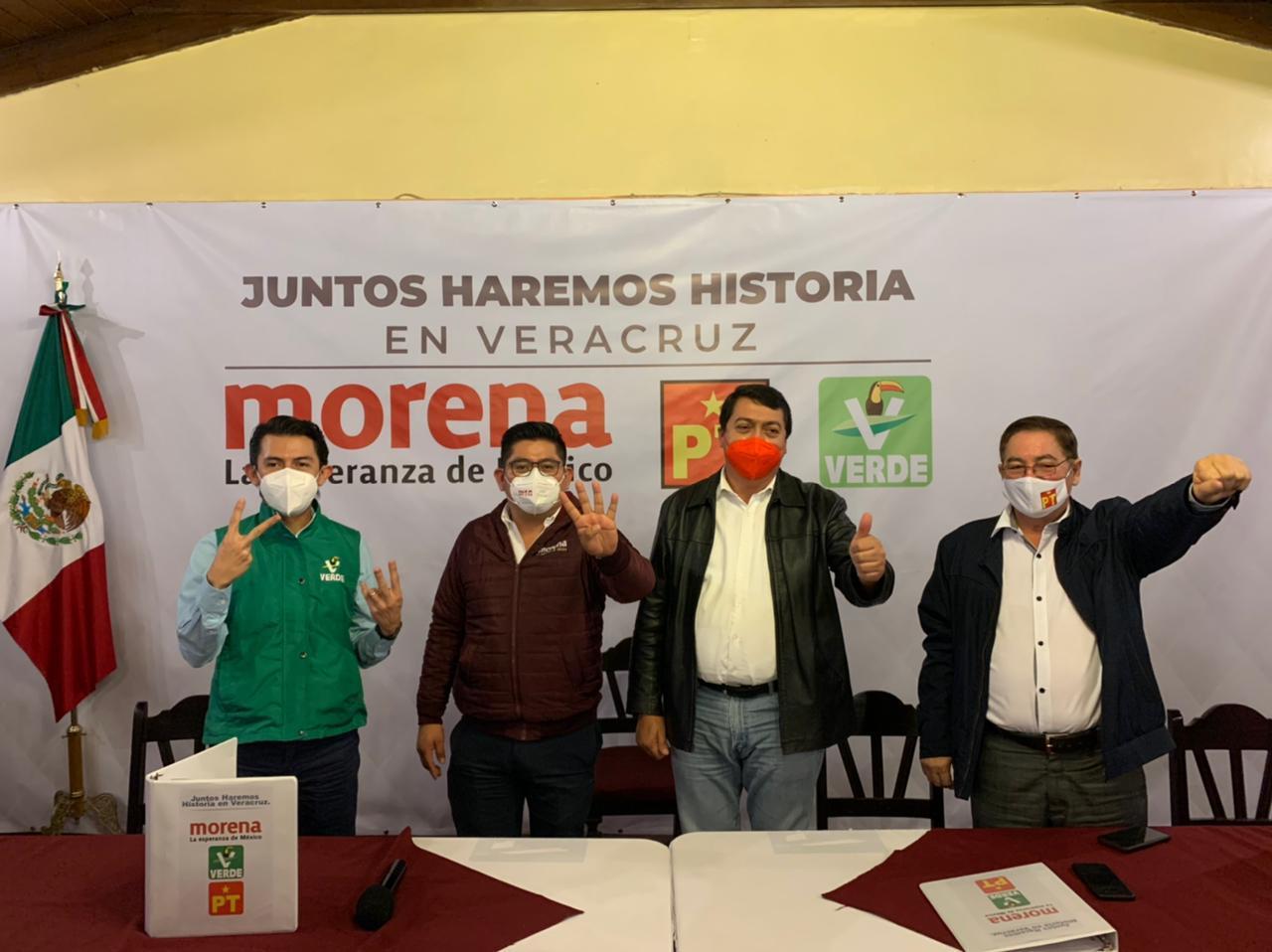 """En Veracruz """"Juntos haremos historia"""": Ramírez Zepeta"""