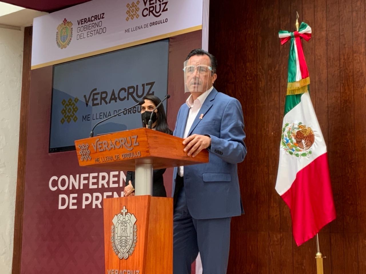 Confirma Gobernador tercera alerta preventiva; Veracruz en riesgo de regresar a semáforo rojo