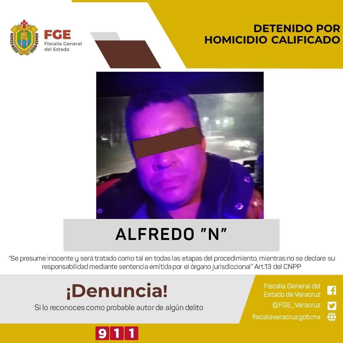 Confirma FGE detención del presunto asesino del activista Abirám Hernández
