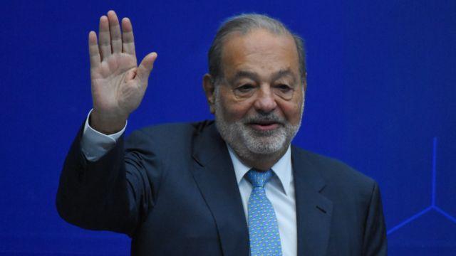 Carlos Slim se encuentra hospitalizado por Covid