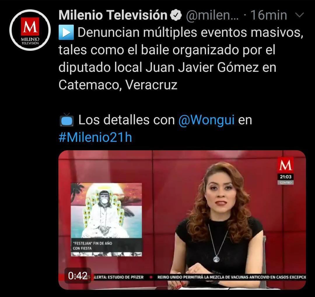 Rechaza Gómez Cazarín información falsa de Milenio