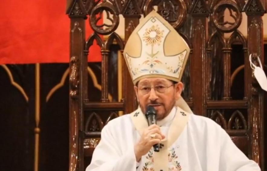 Lamenta Arzobispo de Xalapa saturación de hospitales y que trabajadores no tengan con qué protegerse