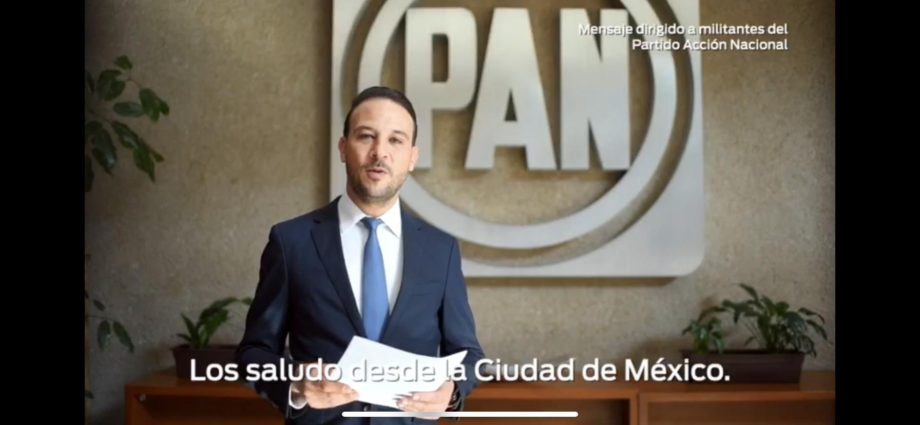 Se registra Juan Manuel Unánue como precandidato a la presidencia municipal de boca del Río