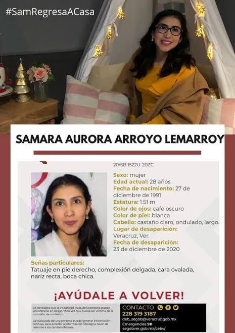 Hallan sin vida cuerpo de nutrióloga Samara Arroyo; fue asesinada en su domicilio