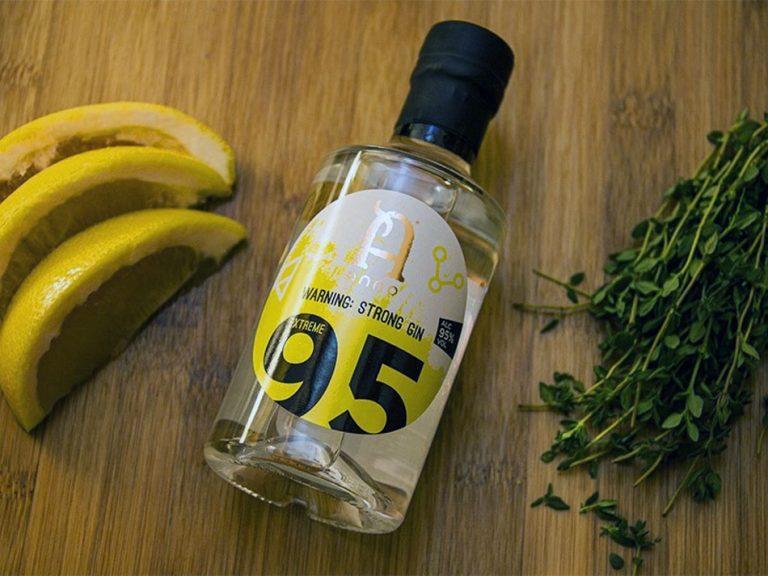 Anno Spirits Extreme 95, la ginebra más fuerte del mundo