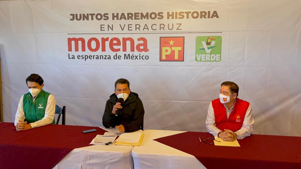 """En Veracruz hay unidad, """"Juntos haremos historia"""": Oscar Cantón"""