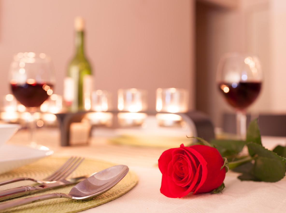 Una cena de San Valentín inolvidable