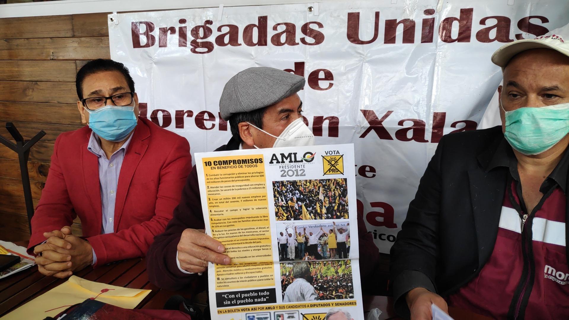 Tres militantes afirman que Ahued no está afiliado y no cumple con los requisitos