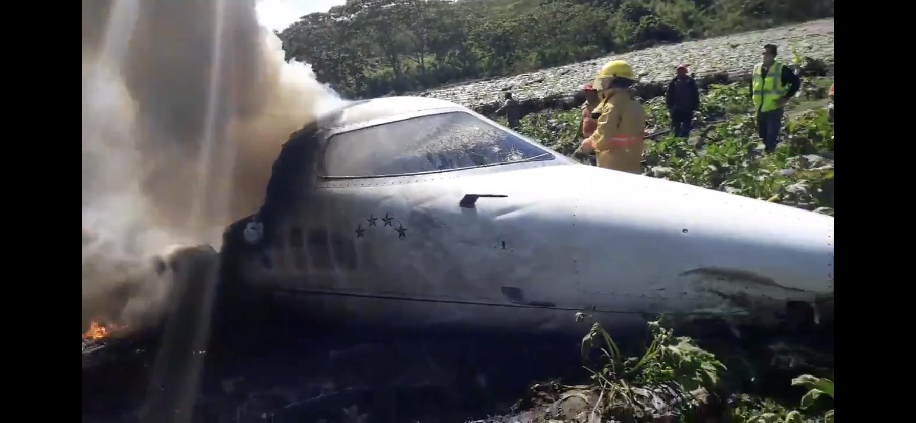 Seis personas murieron en accidente aéreo en El Lencero