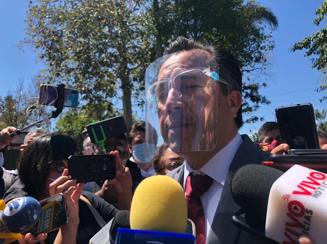No tiene por qué haber vigilancia especial a candidatos: Cuitláhuac