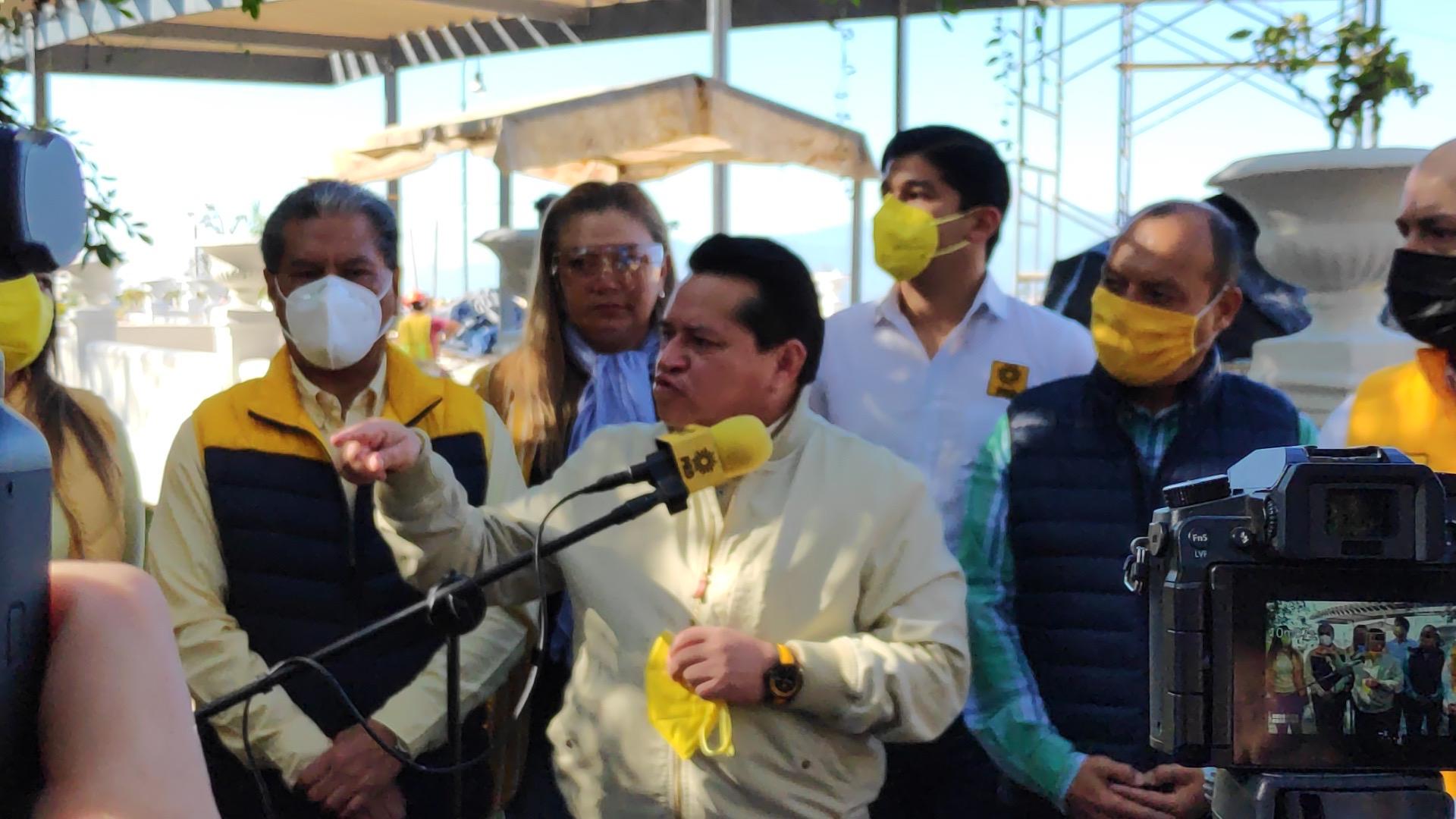 Aspirantes y alcaldes del PRD también han recibido amenazas: Sergio Cadena