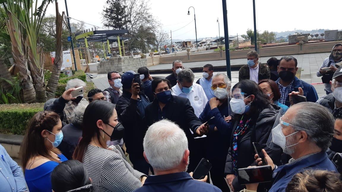Ciudadanos rechazan obra en el parque Juárez, critican que no haya habido consulta