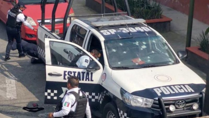 Asesinan a dos policías en Orizaba, Veracruz afuera de las instalaciones del SEMEFO