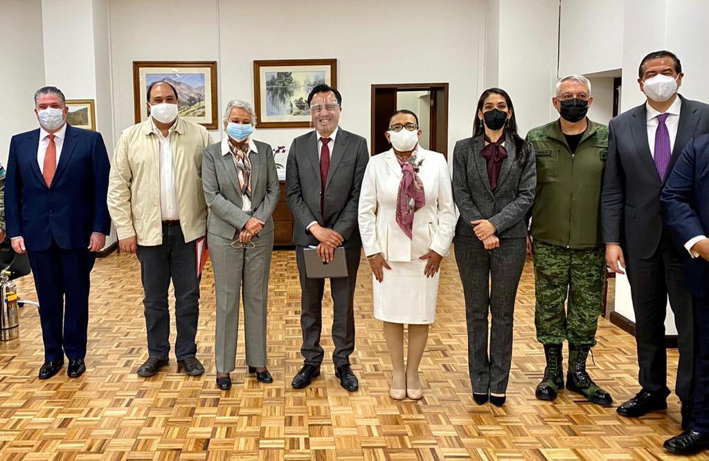 Participa Fiscal General en reunión con el gabinete de Seguridad Nacional