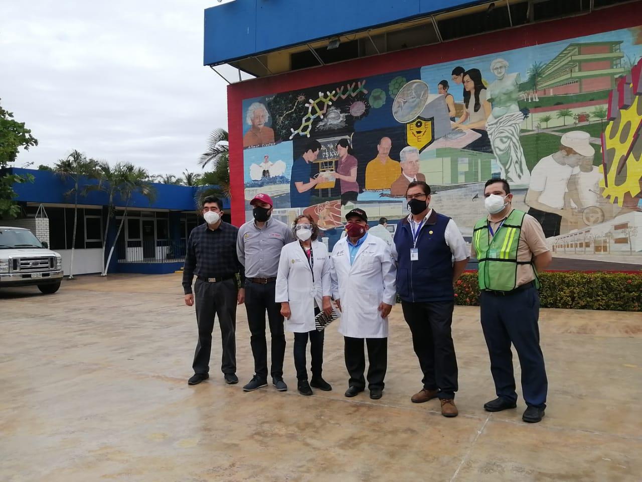 Reconocen al TEC Veracruz por su labor en la vacunación